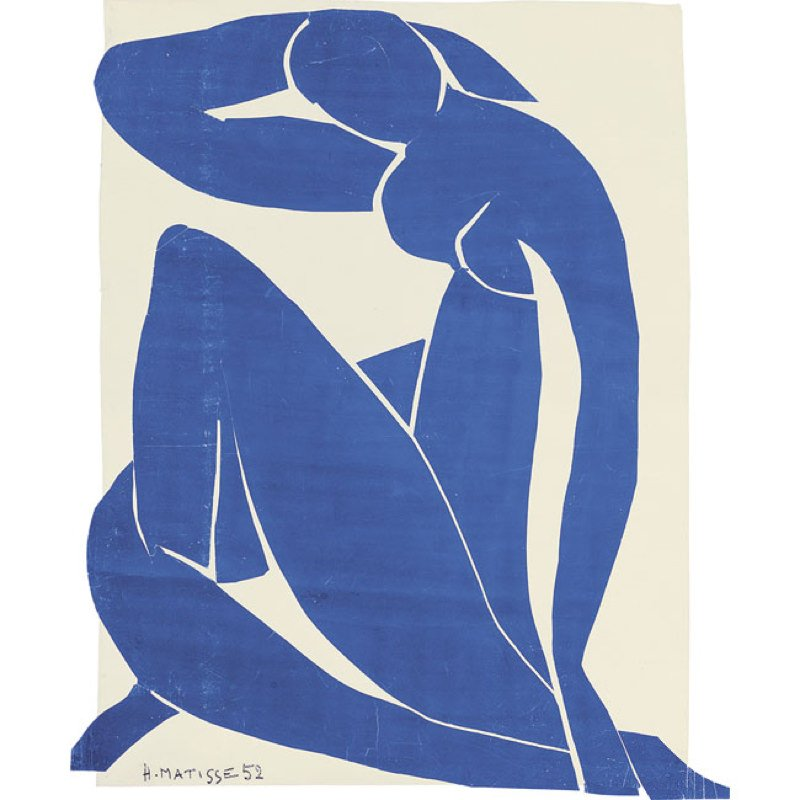 Matisse, Nu Bleu II