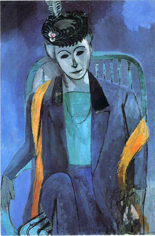 Matisse, Portrait Of Madame Matisse - Bande Verte