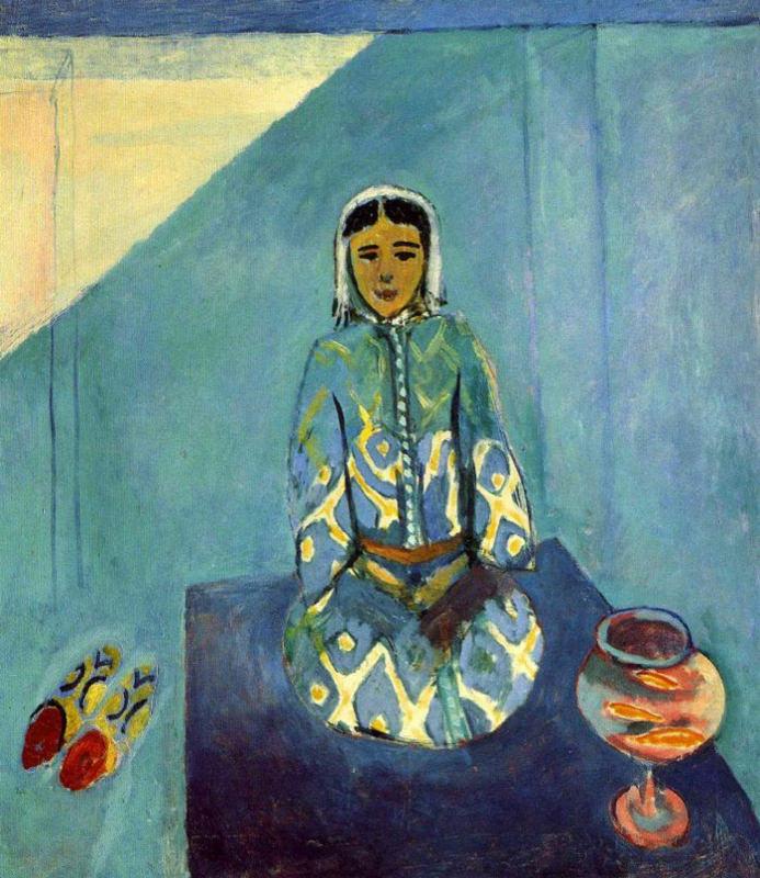 Matisse, Zorah Sur La Terrasse