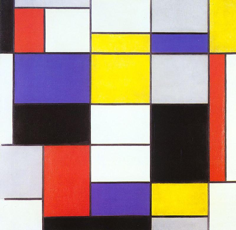 Mondrian, Composition A 1923