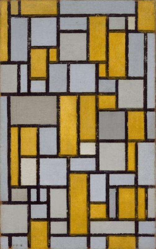 Mondrian, Composition Avec Grille 1