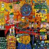 Hundertwasser, The 30 Days Fax Painting