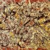 Pollock, Mural On Indian Red Ground