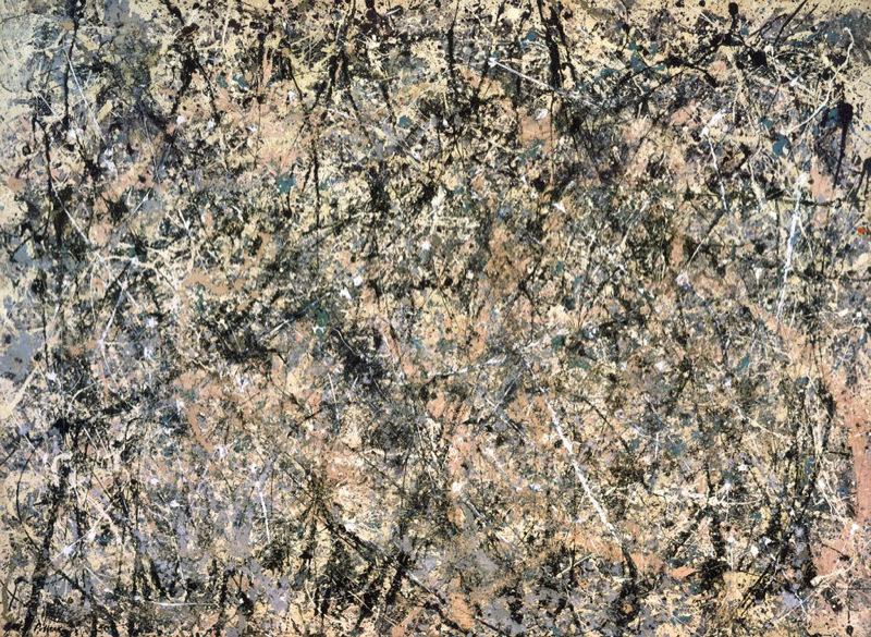 Pollock, Number 1 - Lavender Mist