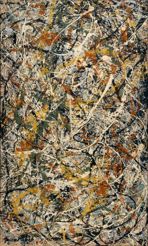 Pollock, Number 3 - 1949
