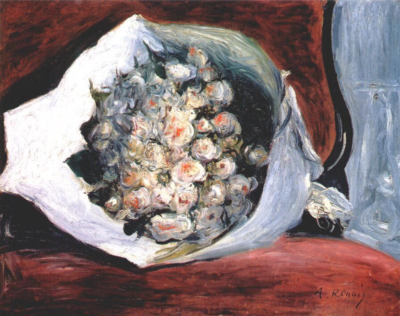 Renoir, Bouquet dans une loge