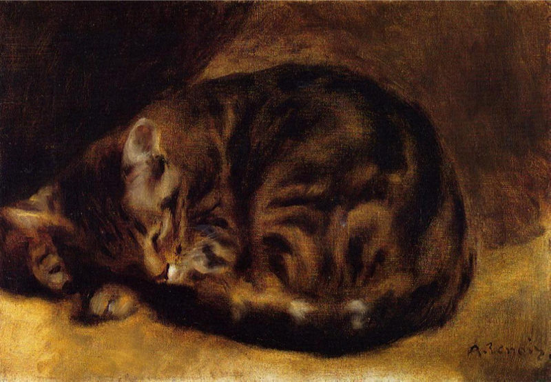 Renoir, Chat qui dort