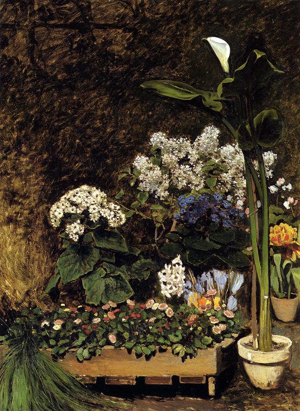 Renoir, Fleurs printannières