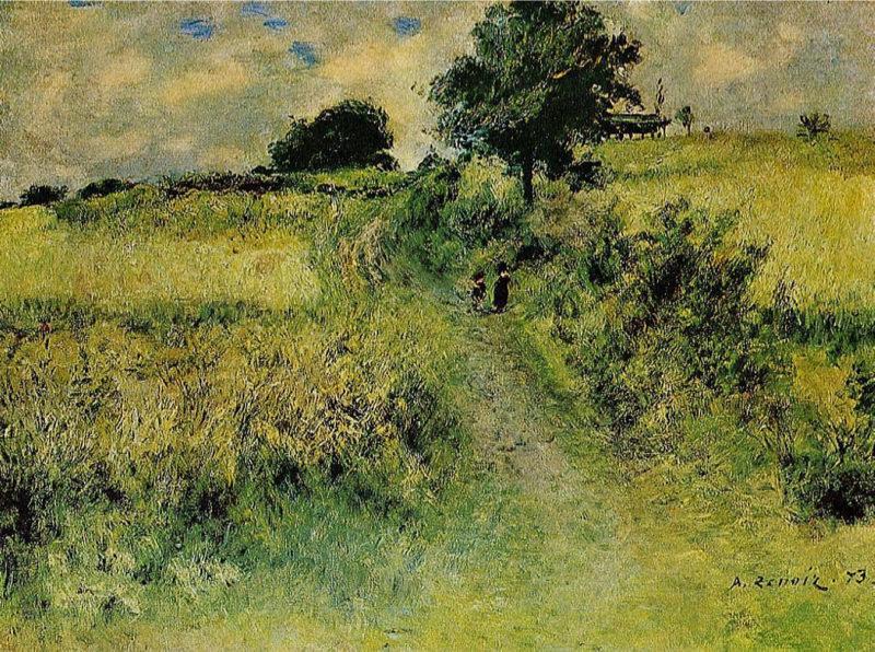 Renoir, Le champ