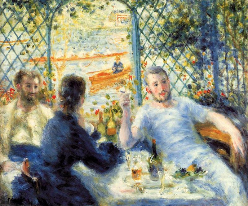 Renoir, Le déjeuner des canoéistes