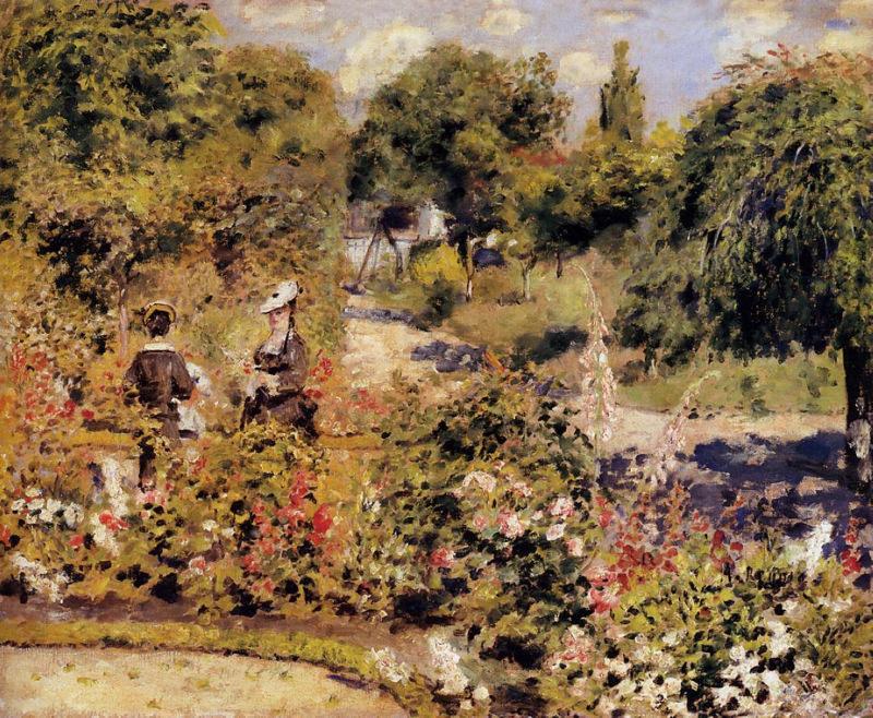 Renoir, Le jardin à Fontenay