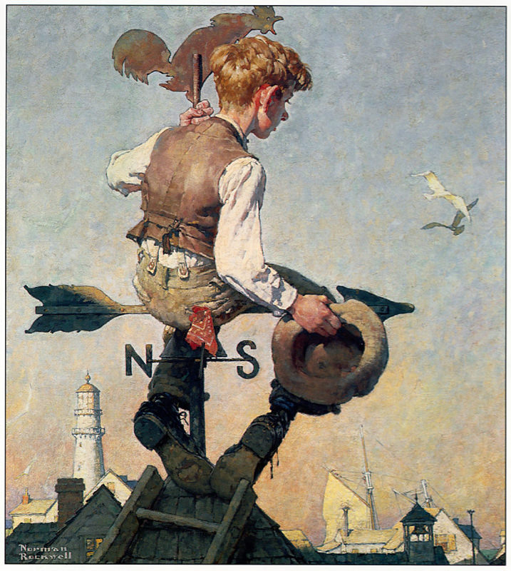 Rockwell, Au-dessus du monde - On top of the world