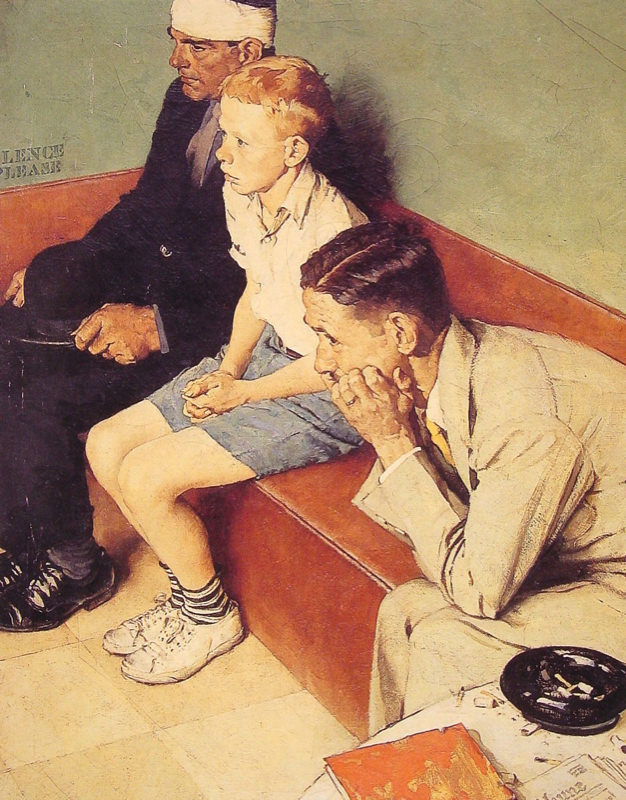 Rockwell, La salle d'attente - The Waiting Room
