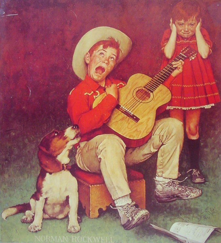 Rockwell, Le musicien - The Music Man
