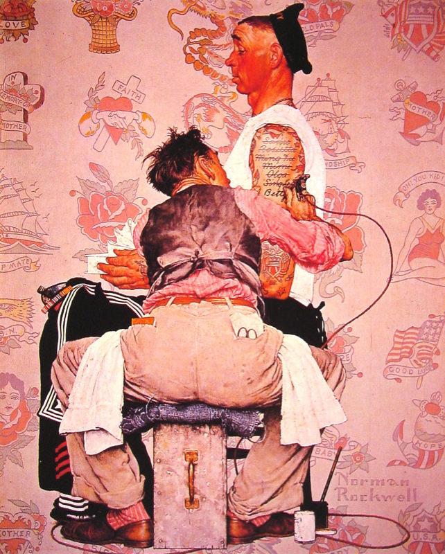 Rockwell, Le Tatoueur - The Tattooist