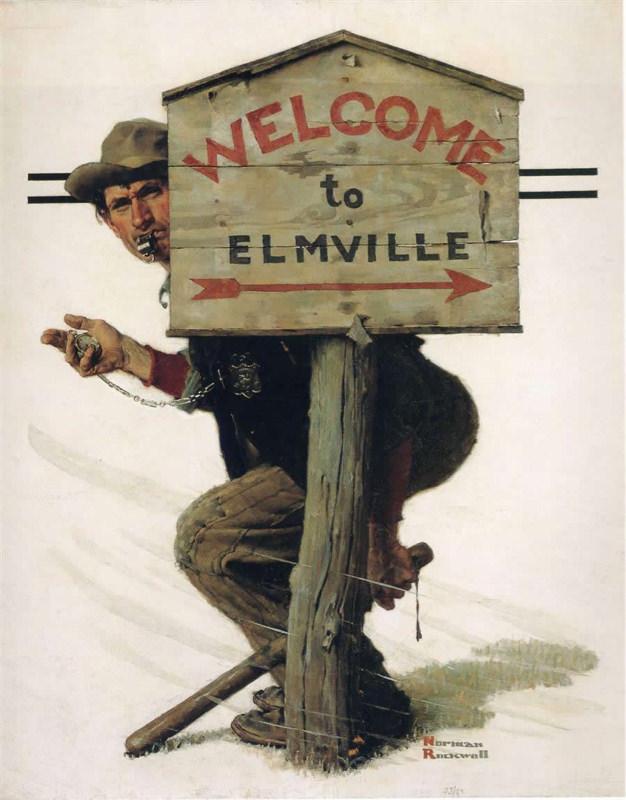 Rockwell, Piège à Elmville - Trap in Elmville