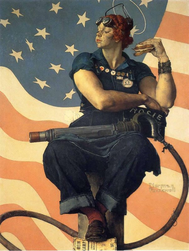 Rockwell, Rosie la riveteuse - Rosie the Riveter
