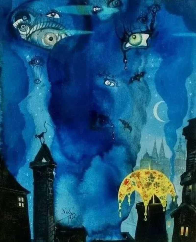 µルバドールダリ絵画複製ザサンドマン 1966