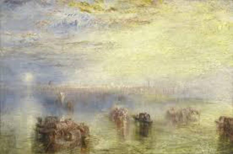 Turner, Approche de Venise