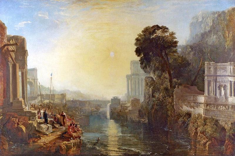 Turner, Didon construisant Carthage