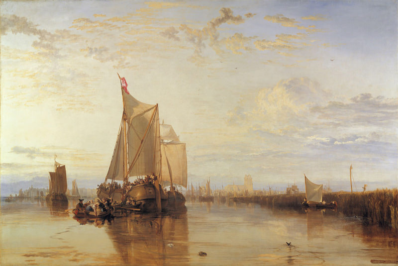 Turner, Dort ou Dordrecht - Le paquebot Dort de Rotterdam