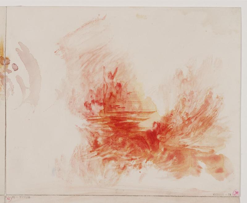 Turner, L'ange debout au soleil
