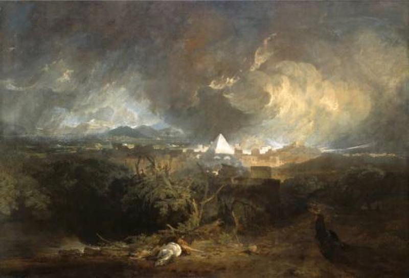 Turner, La cinquième plaie d'Egypte
