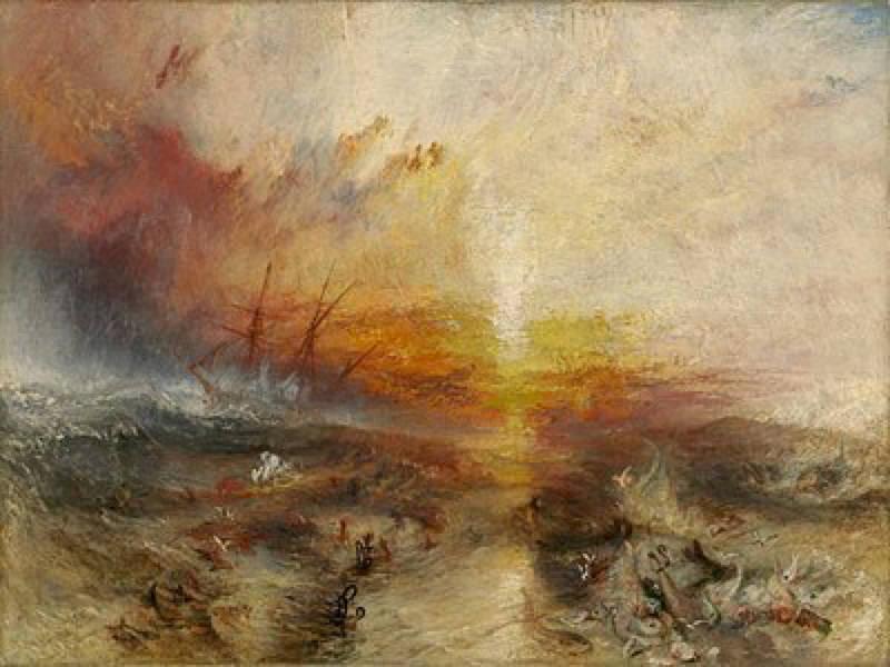 Turner, Le bateau d'esclaves