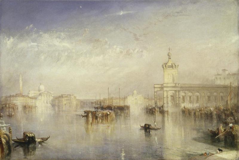 Turner, Le Dogano, San Giorgio, Citella, sur les marches de l'Europe