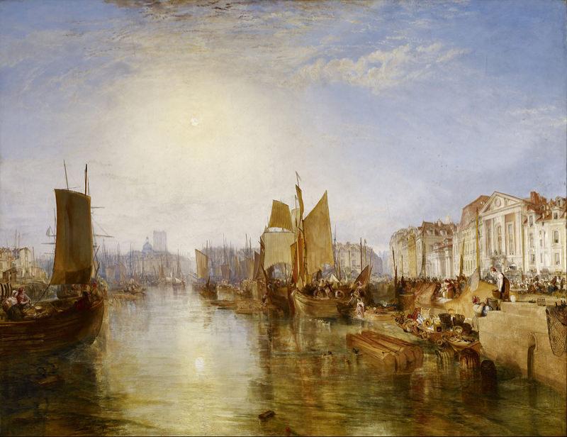 Turner, Le port de Dieppe