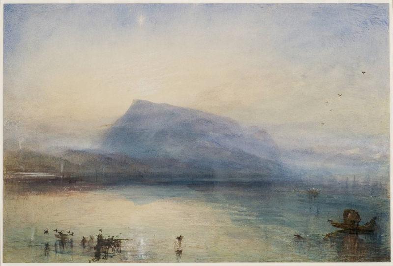Turner, Le Rigi bleu