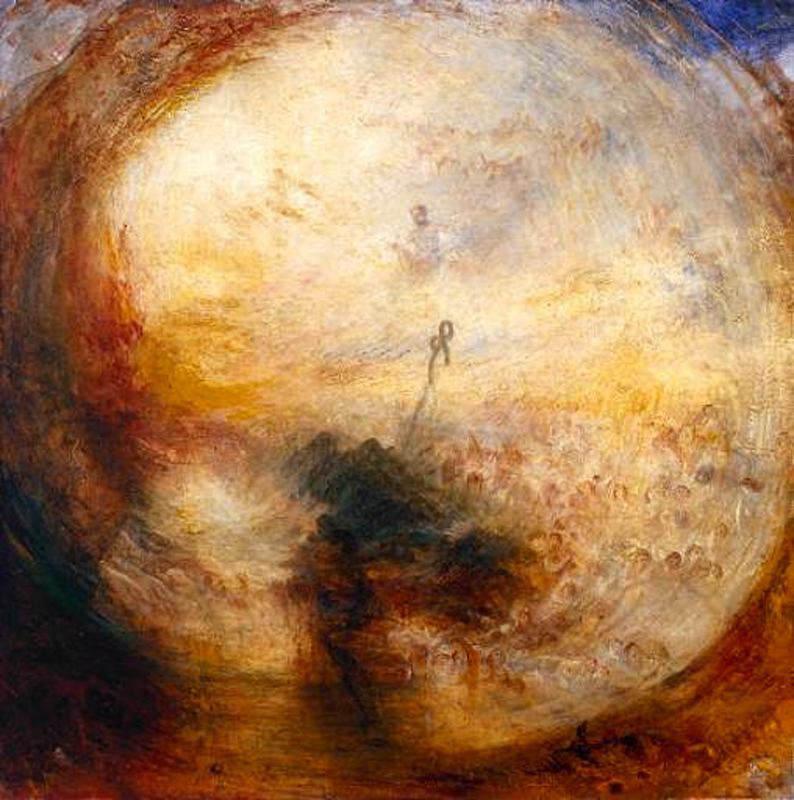 Turner, Lumières et couleurs (Théorie de Goethe) – Le matin après le déluge