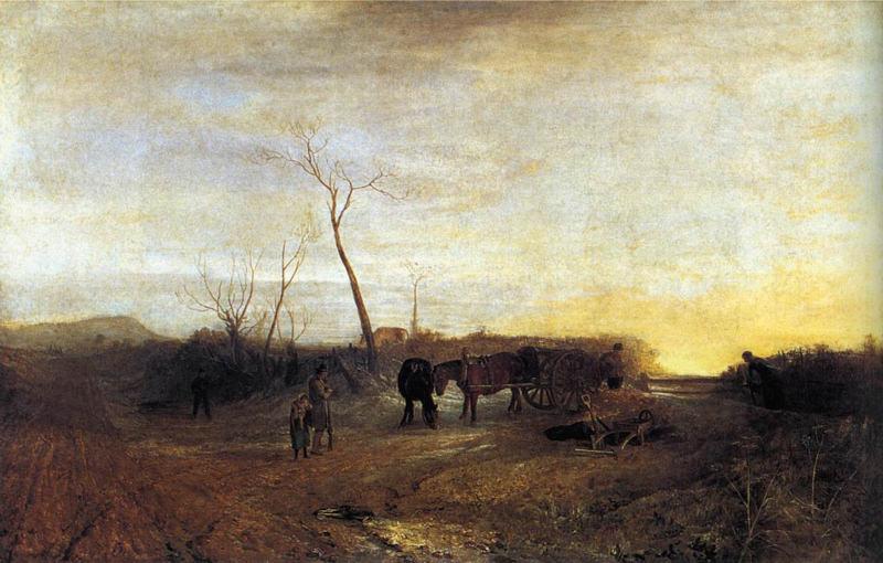 Turner, Matin gelé
