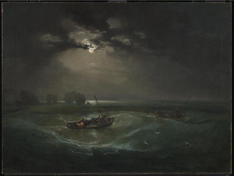 Turner, Pêcheurs en mer