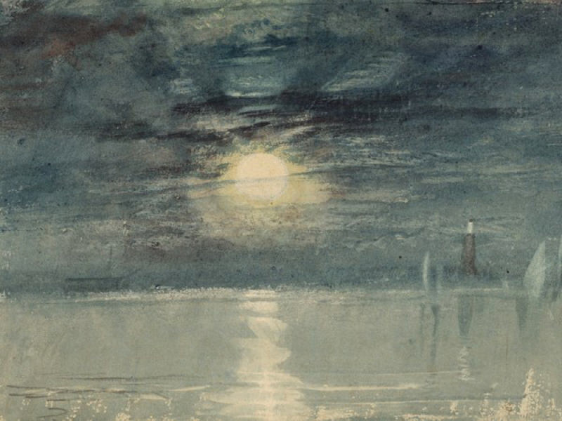 Turner, Phare de Shields, 1823-26