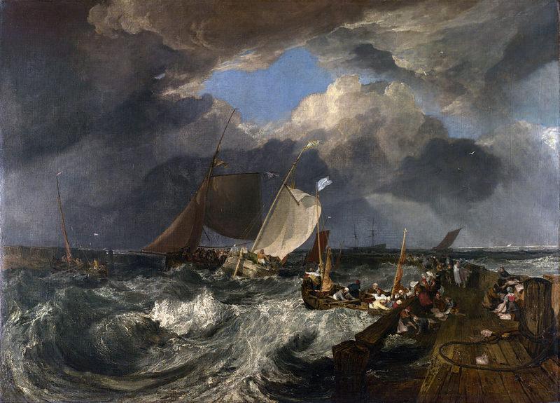 Turner, Port de calais