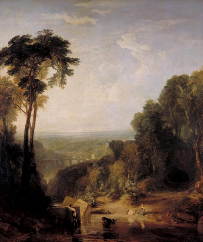 Turner, Traverser le Brook
