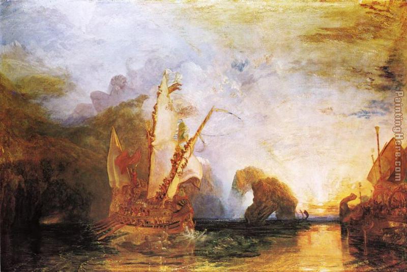 Turner, Ulysse se moquant de Polyphème