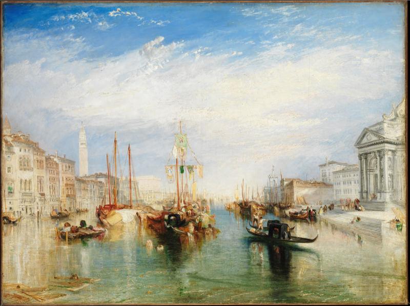 Turner, Venise du porche de la Madonne du Salut