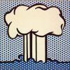 Atomic landscape par Roy Lichtenstein
