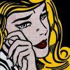Crying Girl par Roy Lichtenstein