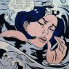 Drowning Girl par Roy Lichtenstein