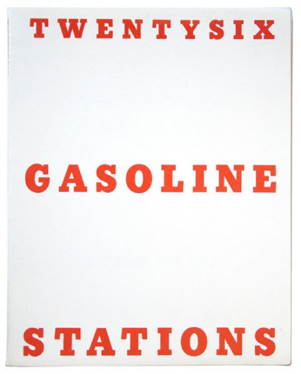 Tableaux sur toile, reproduction de Gasoline Stations par Ruscha