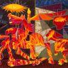 Guernica en feu