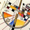 Kandinsky, Délicate Tension - Détail