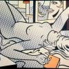 Nude with abstract painting par Roy Lichtenstein