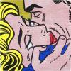 The kiss IV par Roy Lichtenstein