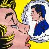 Thinking of him par Roy Lichtenstein